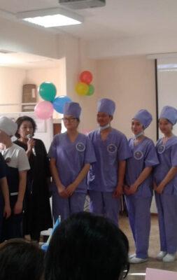 Конкурс «Моя профессия – медицинская сестра!»